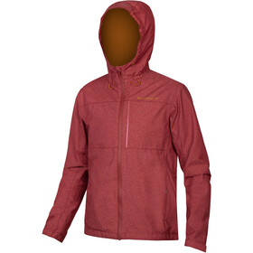 Endura Hummvee Waterproof Hoodie Jacket Men, cocoa